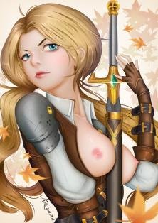 Arena of Valor Butterfly Zabbraea animated Hentai Picture
