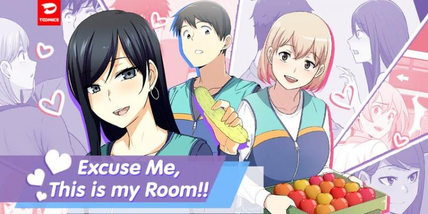 Excuse me, This is my Room Ch. 1-26